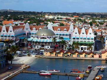 Aruba Port Shopping Caribbean