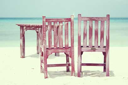 Beach Summer Sea Chairs