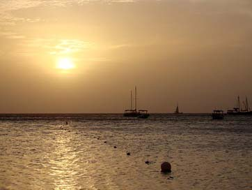 Sunset Landscape One-Happy-Island Aruba