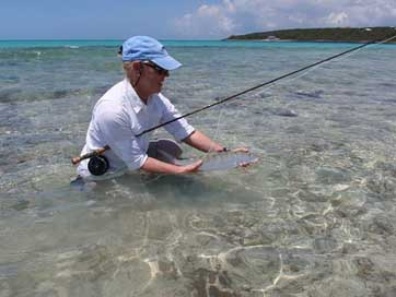 Bone-Fish Bone-Fish Bahama Fly-Fishing