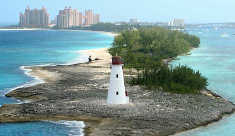 Lighthouse Island Nassau Bahamas