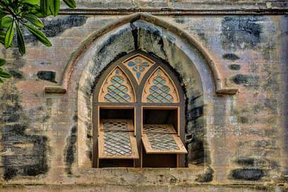 Church Saint-John'S-Church Barbados Window
