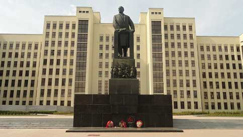 History Socialist-Realism Architecture Monument