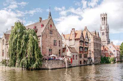 Belfry Canal Bruges Tower