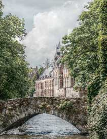 Bruges Historically Romantic Canal