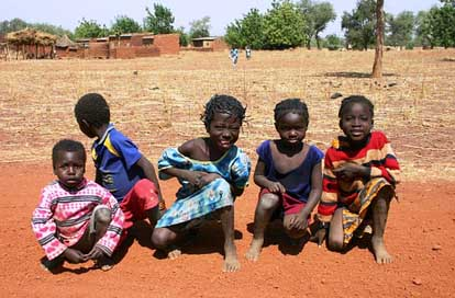Children Nanoro Burkina-Faso Africa