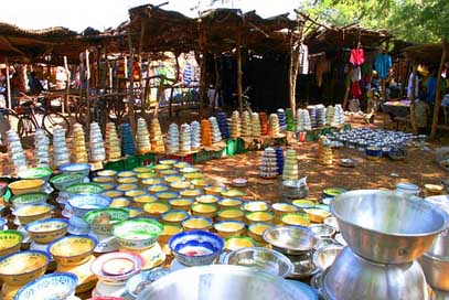 Market Kitchen Burkina-Faso Africa