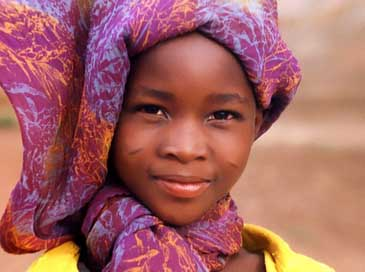 Little-Girl Africa Smile Girl