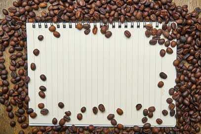 Notebook Food Coffee Core