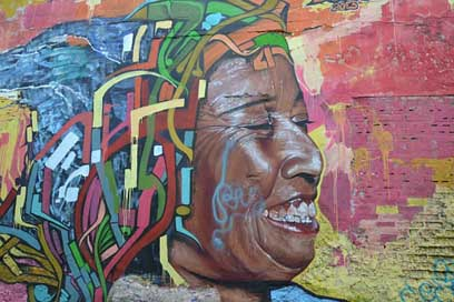 Face South-America Colombian Colombia