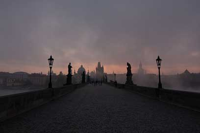 Prague Charles-Bridge Czech-Republic Bridge