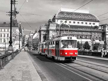 Tram City Prague Gleise