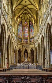 St-Vitus-Cathedral  Czech-Republic Church