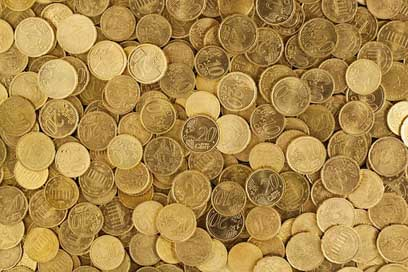 Euro Money Currency Coins