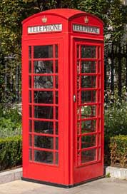 Phone Great-Britain Red Public-Phone