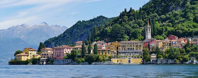 Varenna Historic-Center Architecture City-View Picture