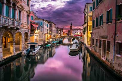 Canal Water Italy Venice Picture