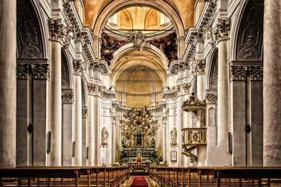 Cathedral Italy Church Sicily Picture