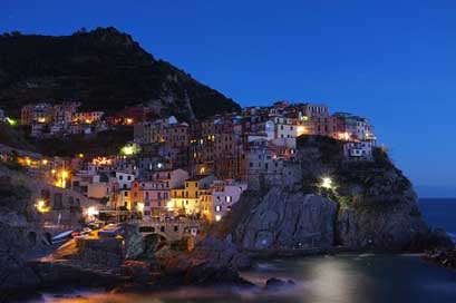 Cinque-Terre Village Italy Town Picture