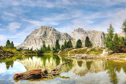 Lech-Limides Italy Dolomites Lagazuoi Picture