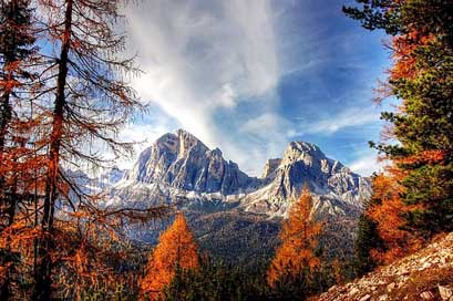 Dolomites Alpine Italy Mountains Picture