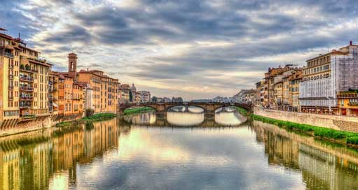 Arno-River Italy Firenze Florence Picture