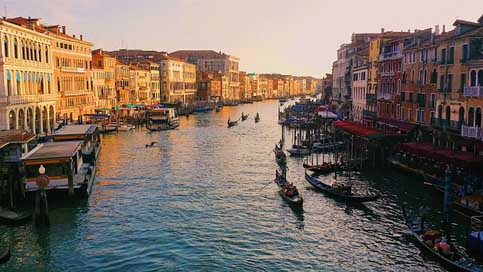 Grand-Canal Canal Italy Venice Picture