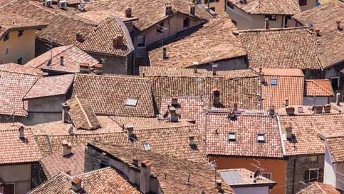 Roofs Italy Historic-Center Houses Picture