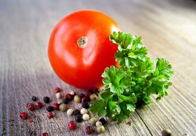 Tomato Eat Parsley Vegetables Picture