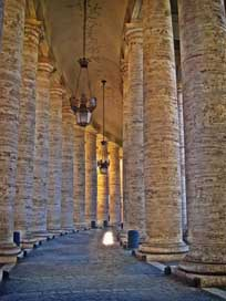 Bernini'S-Colonnade Rome Peter'S-Square St Picture