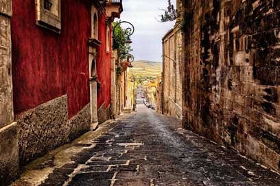 Alley Italy Sicily Road Picture