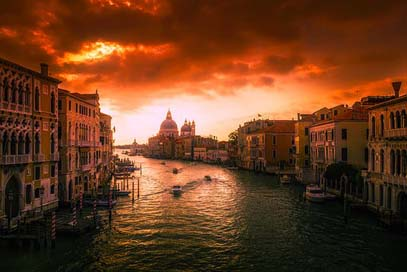 Venice Urban City Italy Picture