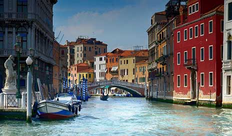 Italy Gondola Water Venice Picture