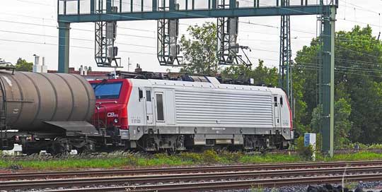 Electric-Locomotive Prima Alstom French