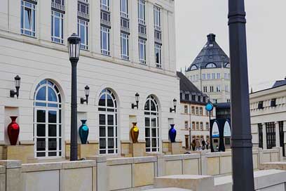 Luxembourg City Europe Buildings