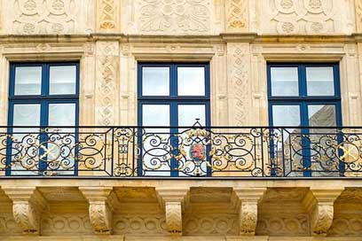 Balcony Architecture Historic Stone