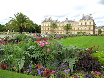 Paris Palace Landscape France