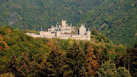Castle Travel Nature Architecture