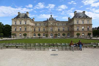 Paris Palace Garden Luxembourg