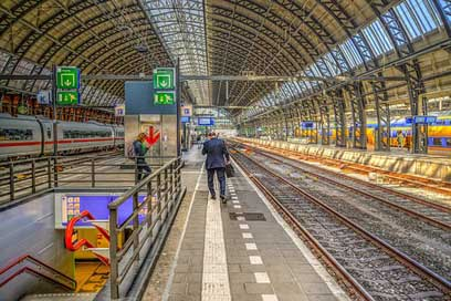 Amsterdam Station Train Central