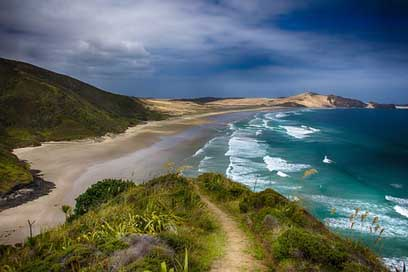 New-Zealand Bay Sea Beach
