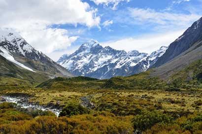 Aoraki New-Zealand Mountain Mount-Cook