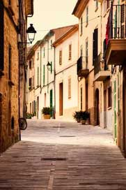 Alcudia City Town Spain