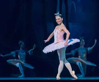 Ballet Don-Quixote Performance Ballerina